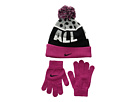 Nike Kids - Attitude Knit Beanie Gloves Set (Little Kids/Big Kids)