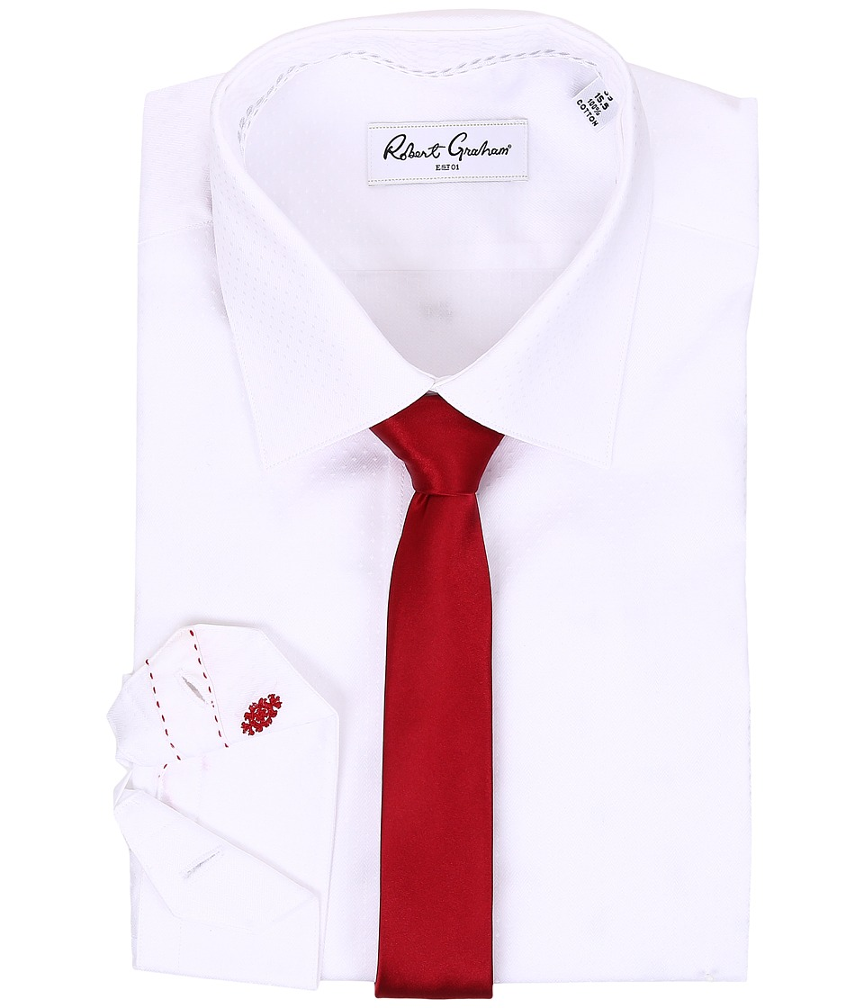 Robert Graham - Chandler Dress Shirt (White) Men's Clothing