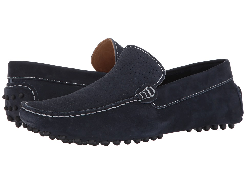 RUSH by Gordon Rush - Sampson (Navy) Men's Shoes