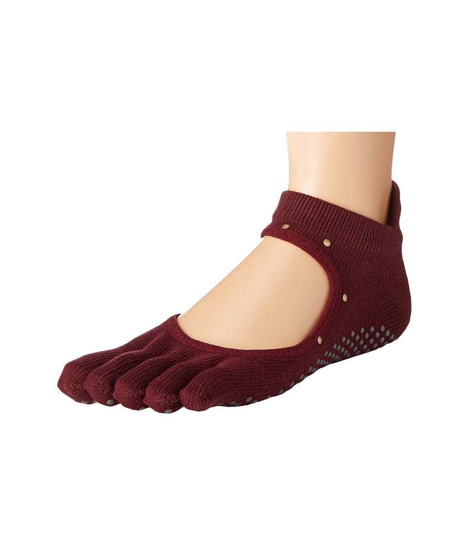 toesox - Bellarina Full Toe w/ Grip (Lux) Women's Crew Cut Socks Shoes
