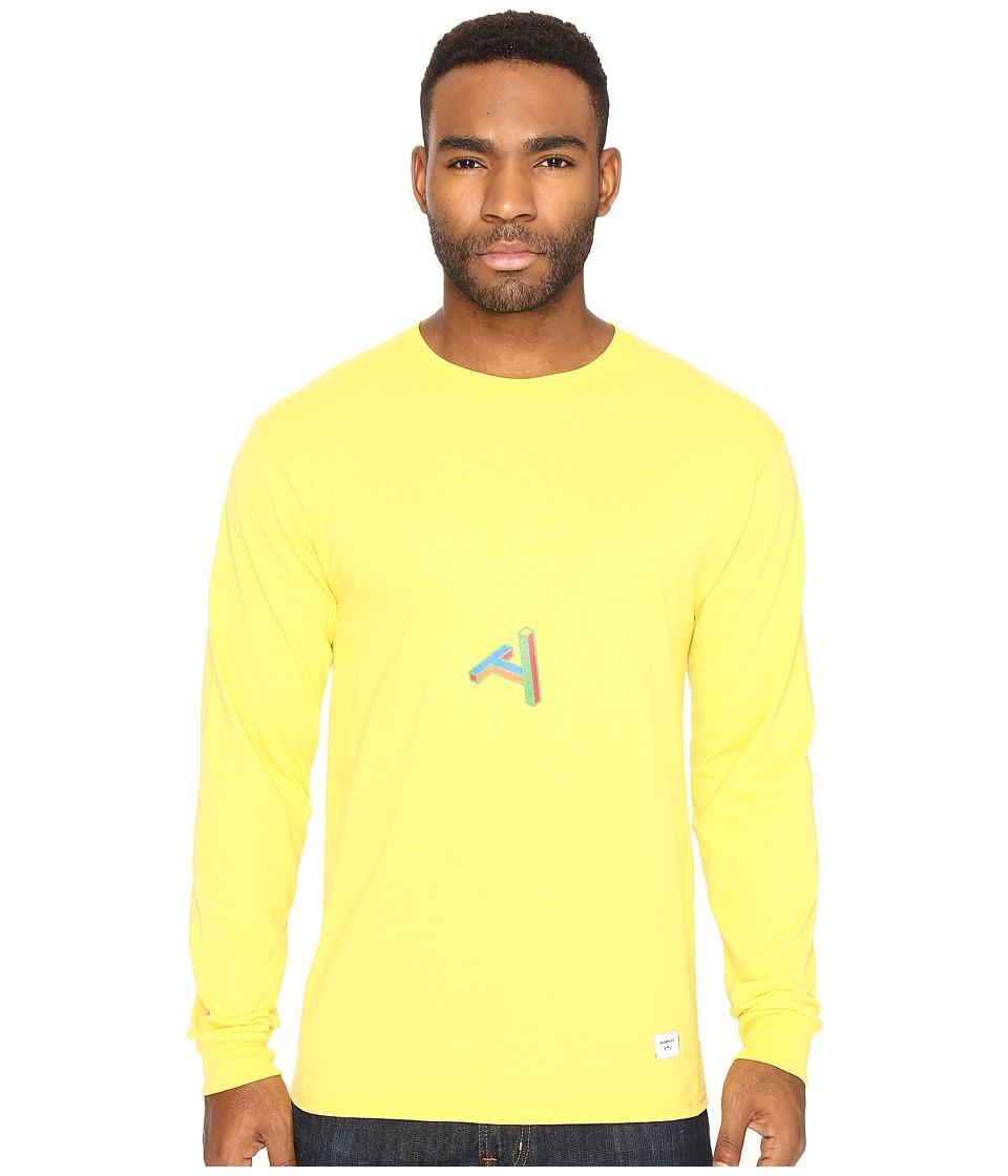Akomplice - Puruvingo Long Sleeve Tee (Banana) Men's T Shirt