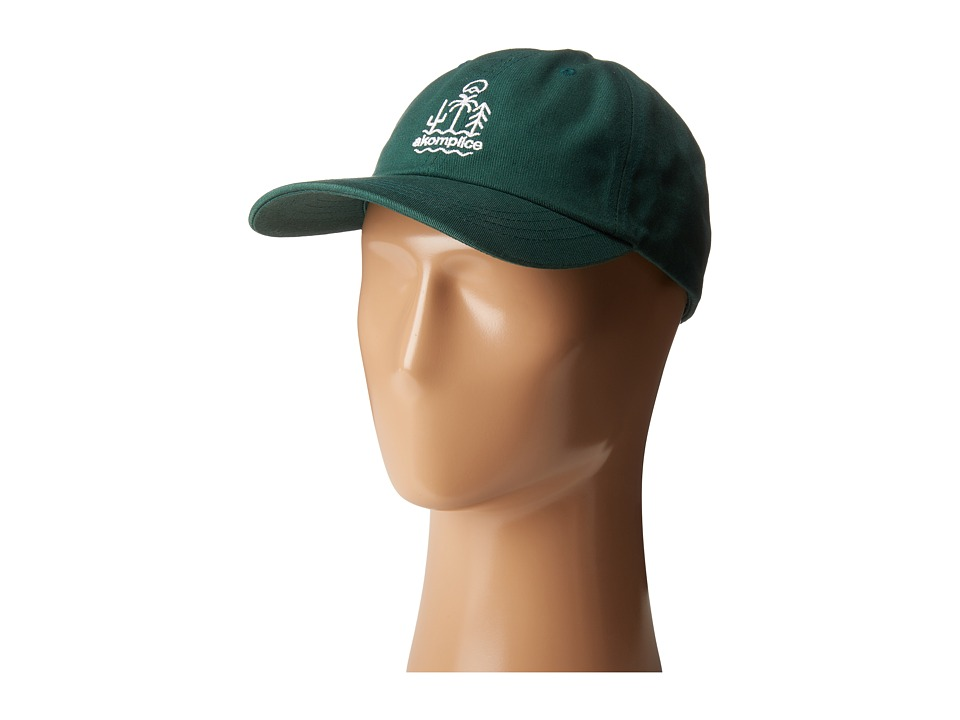 Akomplice - Life Dad Hat (Forest Green) Caps