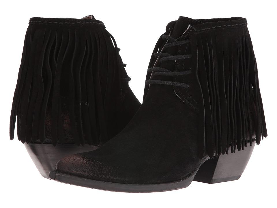 Frye - Sacha Fringe (Black) Women's Boots