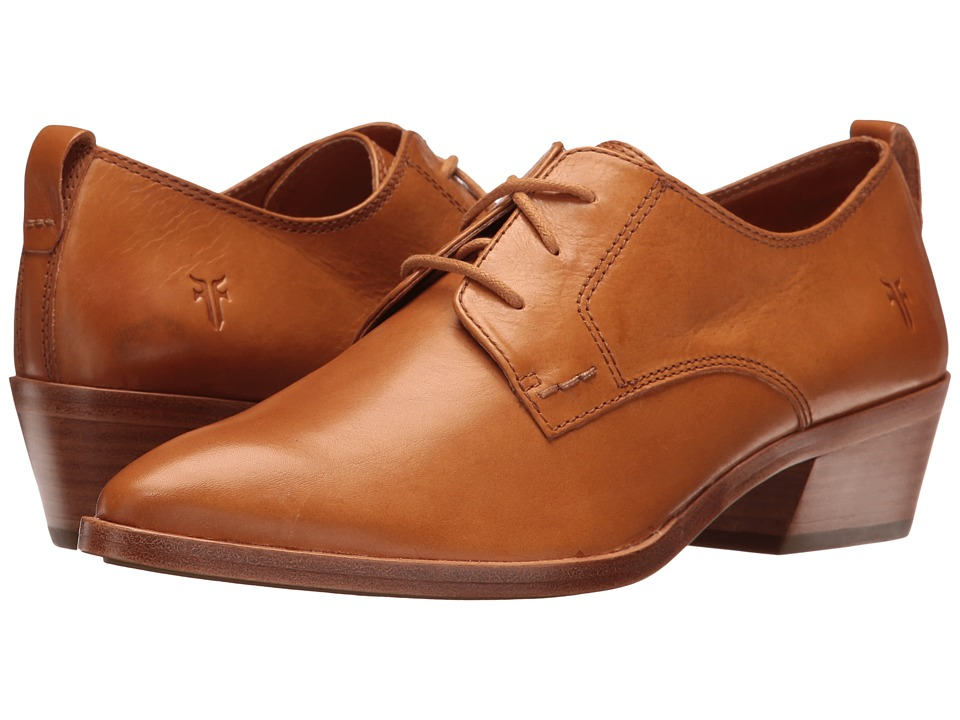 Frye - Reese Oxford (Tan) Women's 1-2 inch heel Shoes