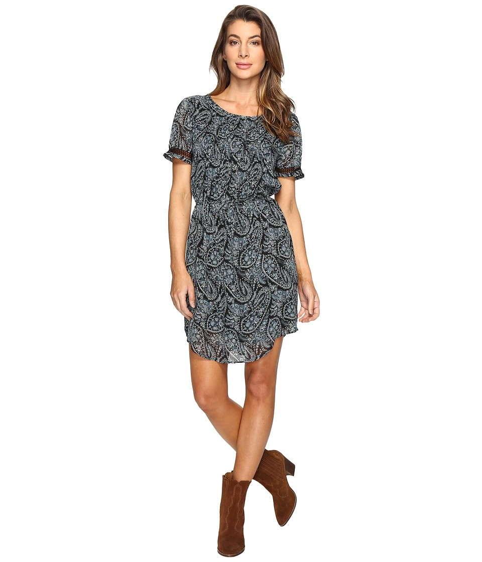 Lucky Brand Night Out Dress (Black Multi) Women