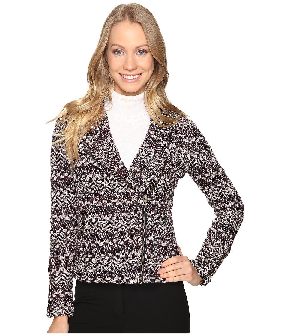 Lucky Brand - Moto Sweater (Navy) Women's Sweater
