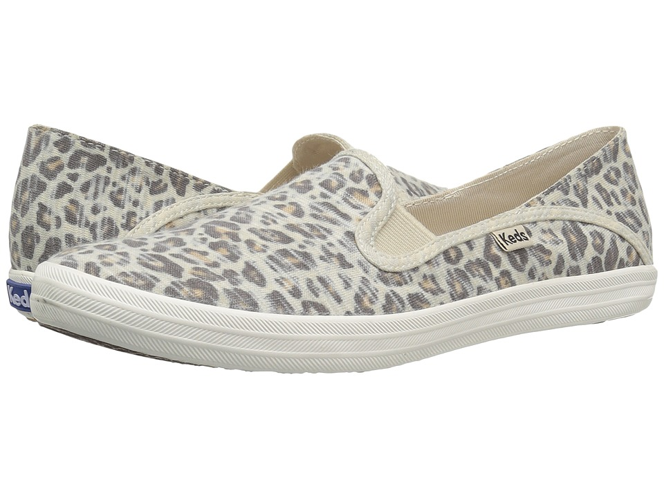 Keds - Crashback Jersey (Leopard) Women's Shoes