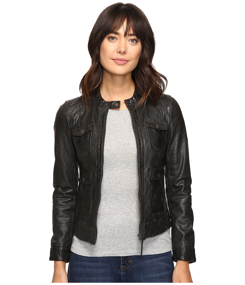Lucky Brand - Stormy Moto Jacket (Electric Gray) Women's Coat