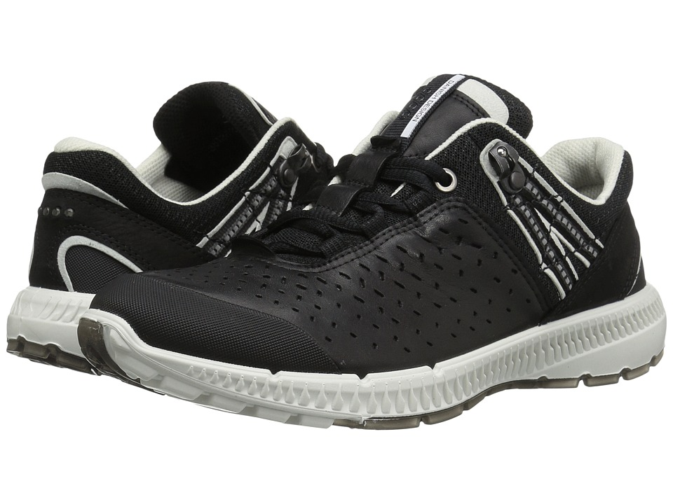 ECCO - Intrinsic TR Walker (Black/Black) Women's Lace up casual Shoes