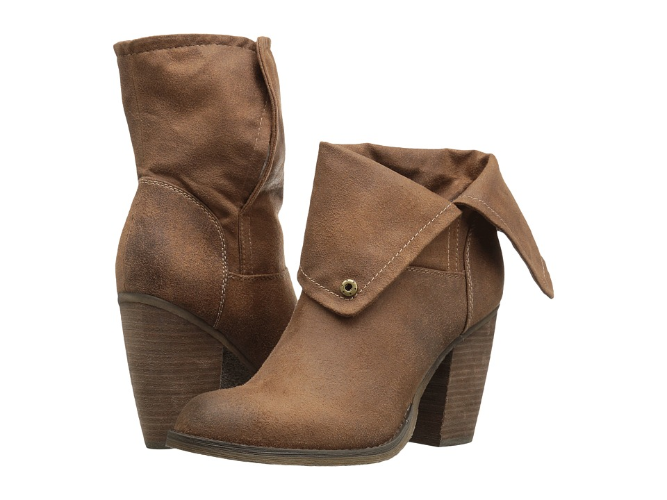 Sbicca - Chord (Tan) Women's Pull-on Boots