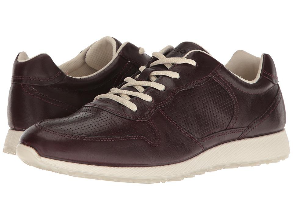 ECCO - Sneak (Bordeaux) Women's Shoes