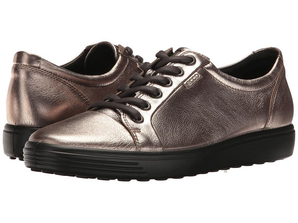 ECCO Soft 7 Sneaker (Warm Grey) Women