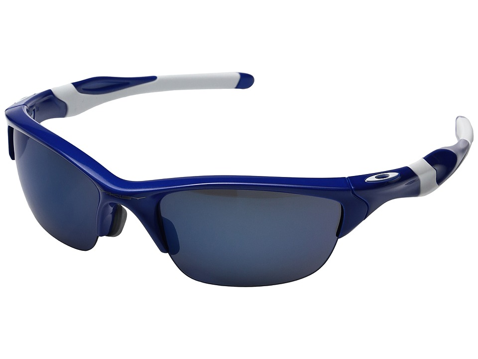 Oakley - MPH Half Jacket 2.0 (Team Blue w/ Ice Iridium) Sport Sunglasses