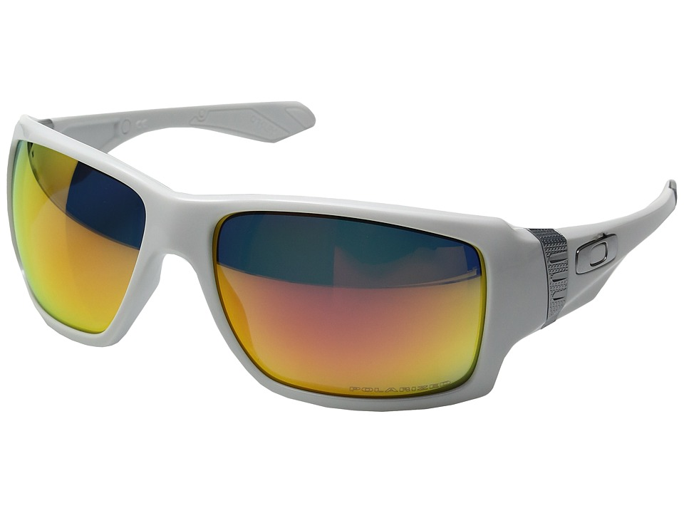 Oakley - MPH Big Taco (Polished White w/ Ruby Polarized) Sport Sunglasses