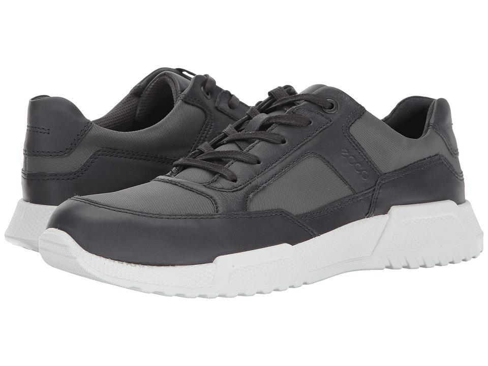 ECCO Luca Modern Sneaker (Moonless/Dark Shadow) Men