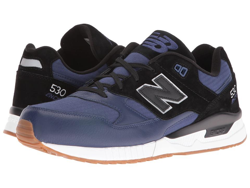 New Balance - M530NOB (Navy/Black) Men's Shoes