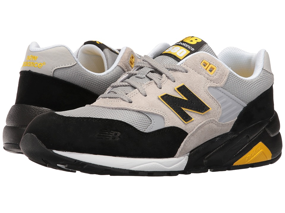 New Balance - MRT580LS (Grey/Black) Men's Shoes