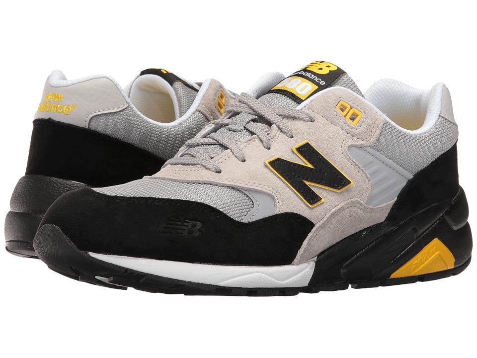 New Balance - MRT580LS (Grey/Black) Men's Shoes