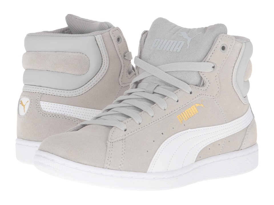 PUMA - Puma Vikky Mid (Gray Violet/Puma White) Women's Shoes