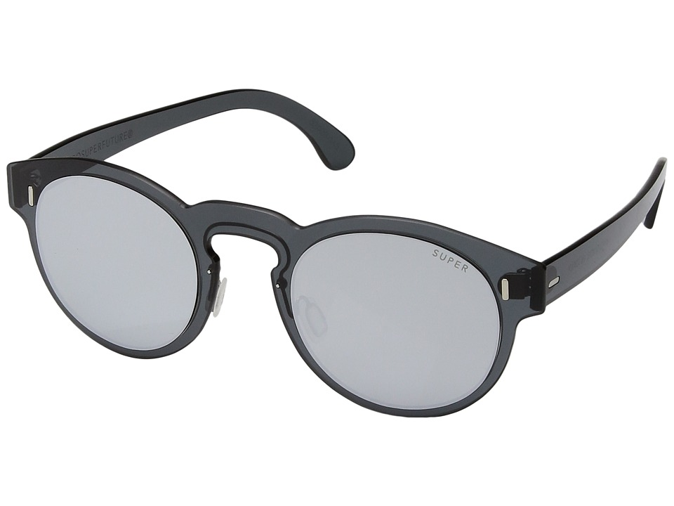 Super - Duo-Lens Paloma Silver/Black (Silver/Black 1) Fashion Sunglasses