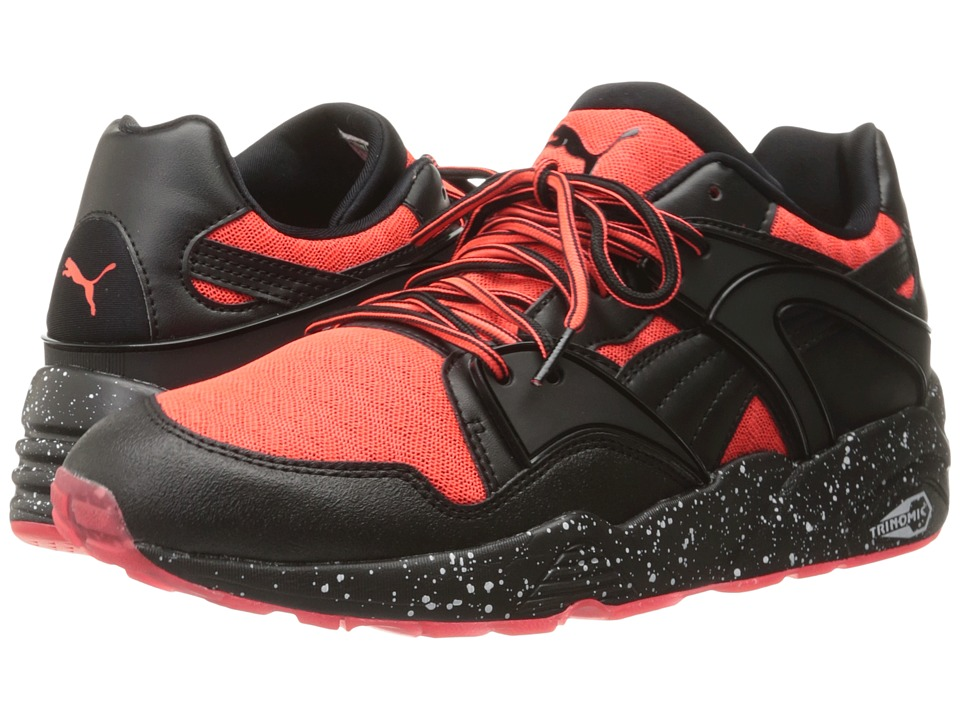 PUMA - Blaze Tech Mesh (Red Blast/Puma Black) Men's Shoes