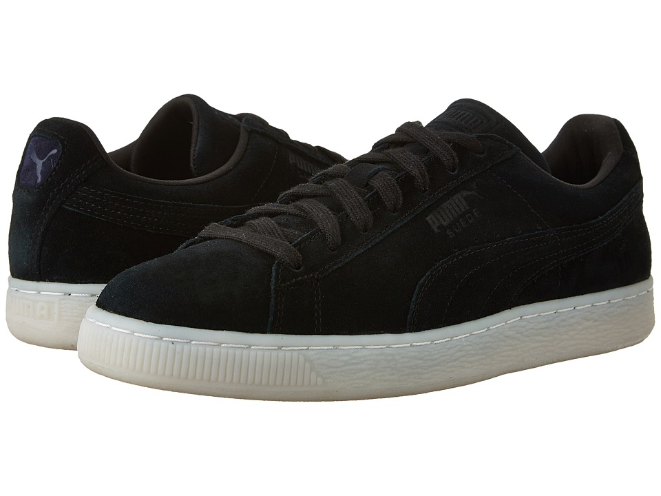 PUMA - Suede Classic Colored (Black/Peacoat) Men's Shoes