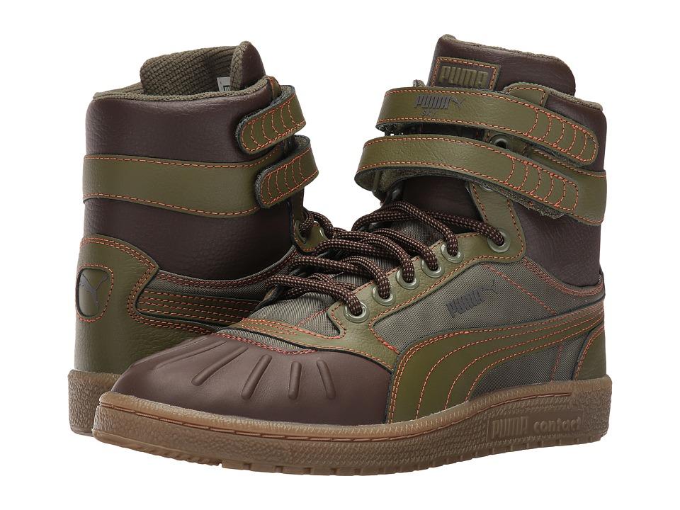 PUMA Sky II Hi Duck Boot (Chipmunk/Chocolate Brown) Men