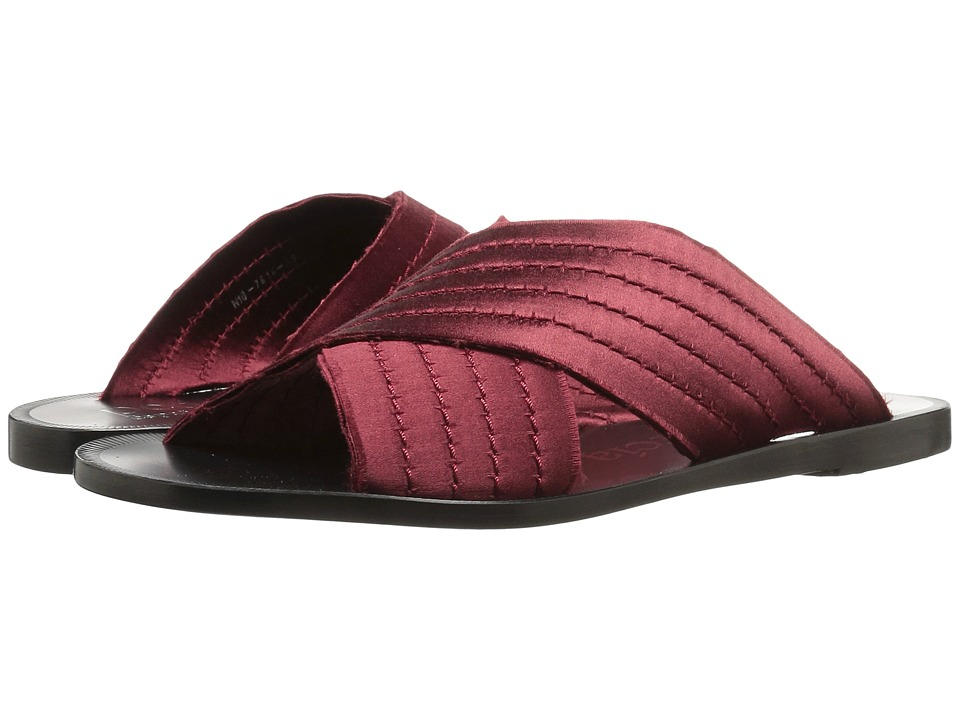 Pedro Garcia - Zissi (Oxblood Satin) Women's Sandals