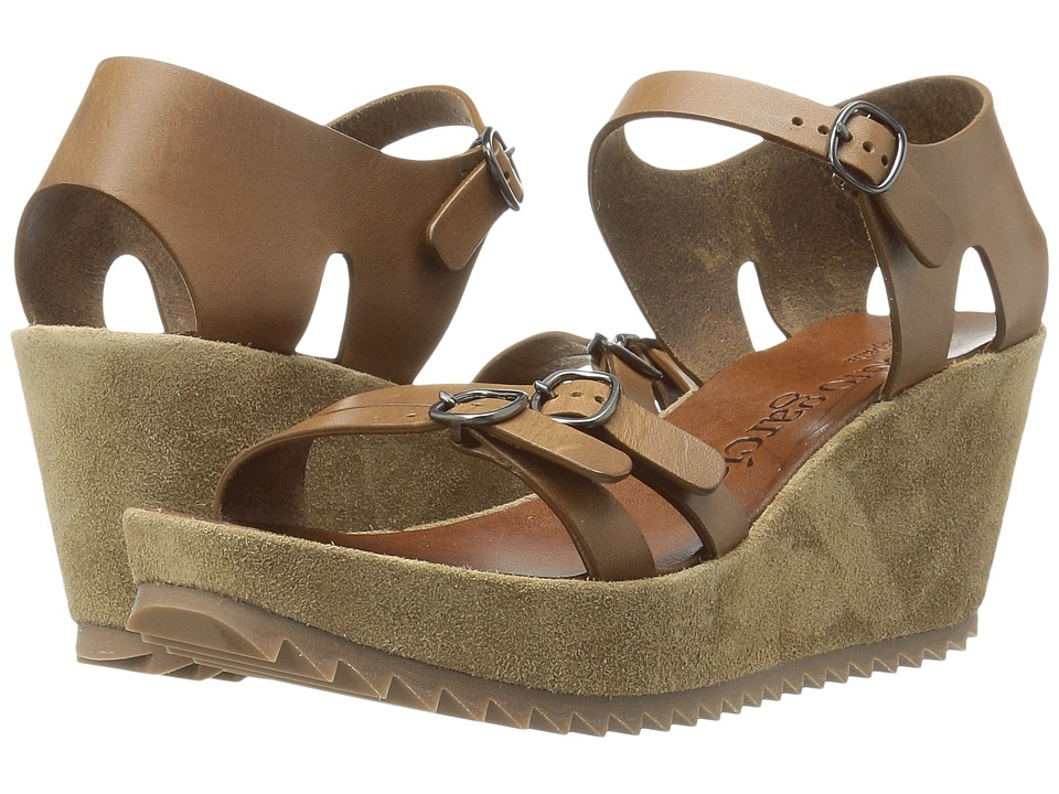 Pedro Garcia - Frenchie (Cigar Vacchetta) Women's Sandals