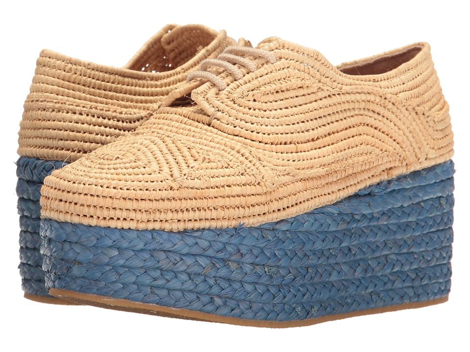 Robert Clergerie - Pintom (Natural Rafia) Women's Shoes