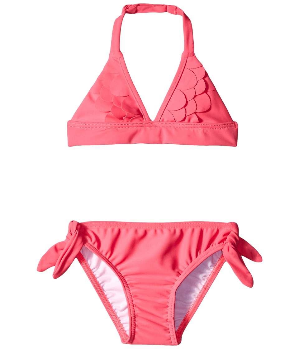 Seafolly Kids - Mermaidia Trikini (Toddler/Little Kids) (Pony Pink) Girl's Swimwear Sets