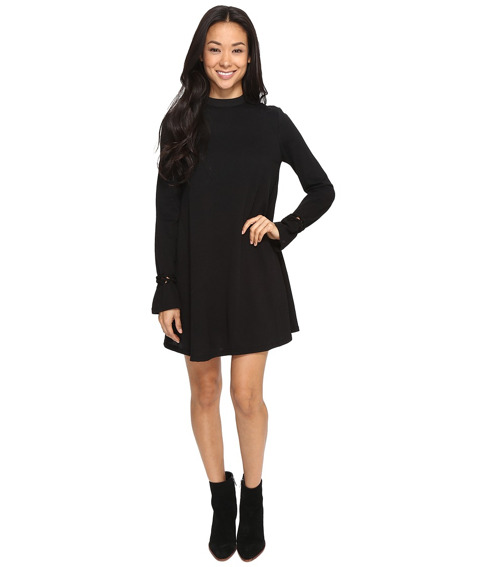Brigitte Bailey - Aimee Mock Neck Dress (Black) Women's Dress