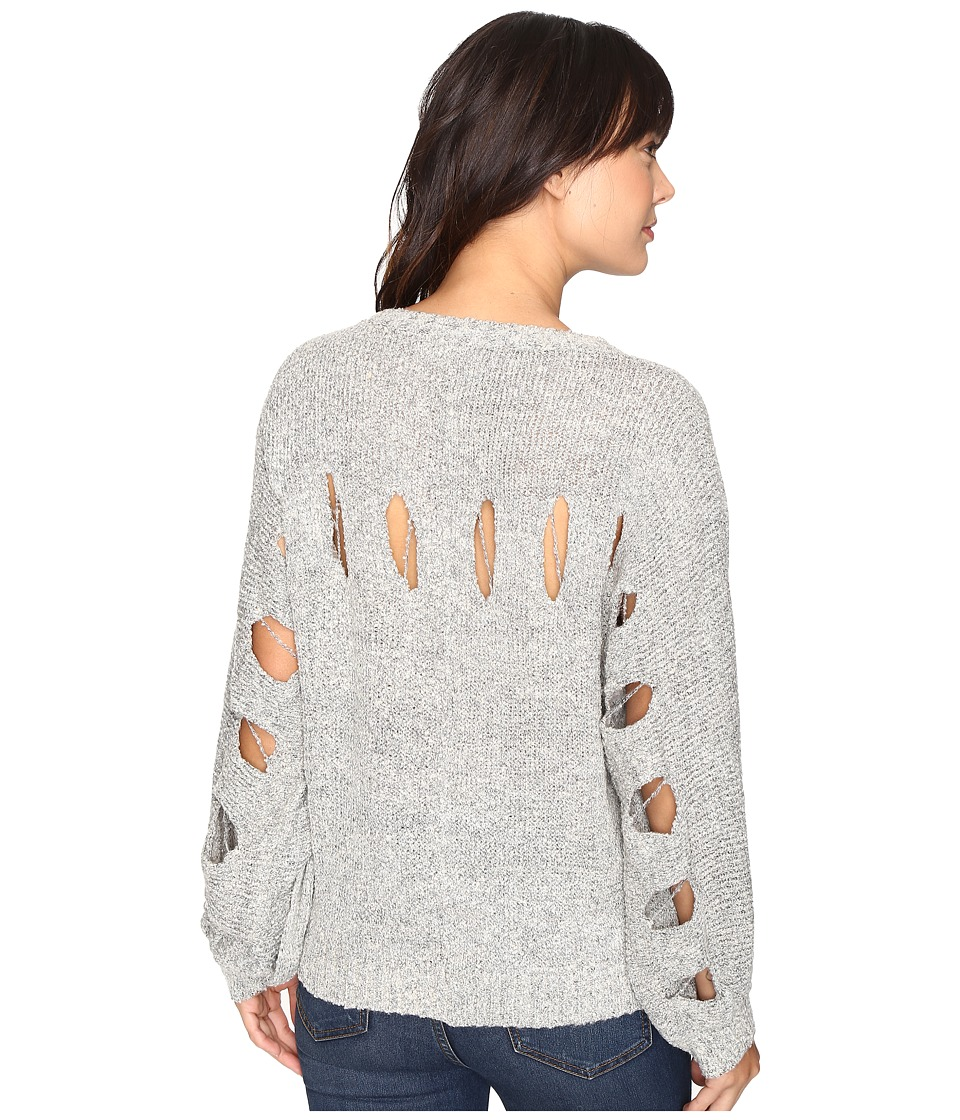Brigitte Bailey - Janiya Oversized Knit Sweater (Grey) Women's Sweater