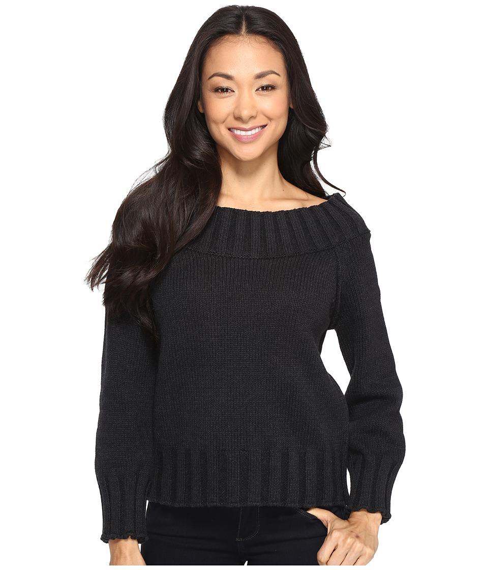 Brigitte Bailey - Bradlee Wide Neck Sweater (Navy) Women's Sweater