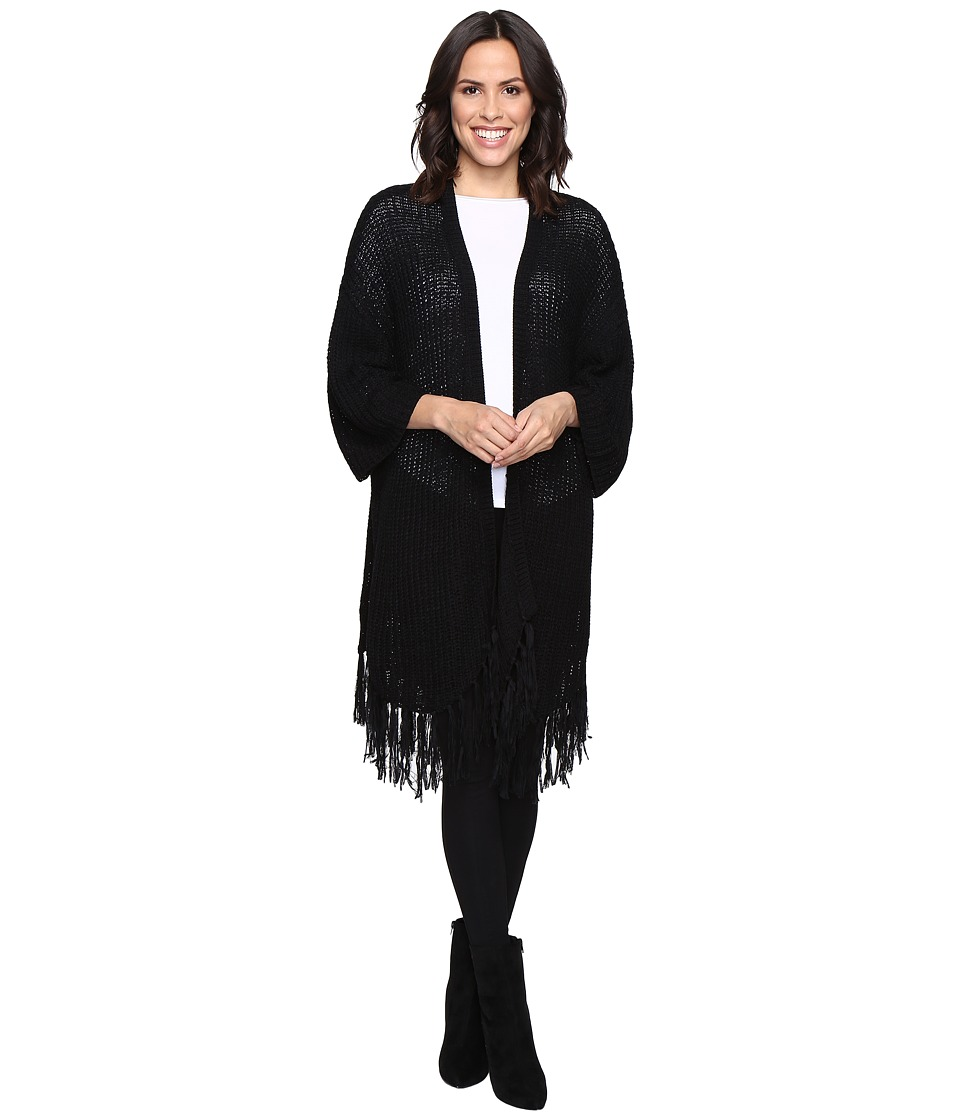 Brigitte Bailey - Eriella Knit Cardigan (Black) Women's Sweater