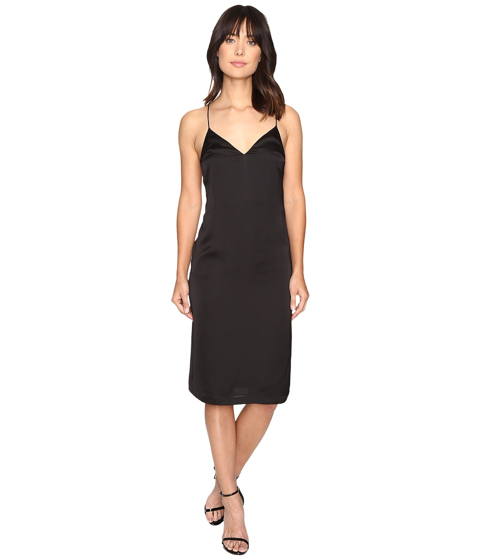 Brigitte Bailey - Schyler Spaghetti Strap Midi Dress (Black) Women's Dress