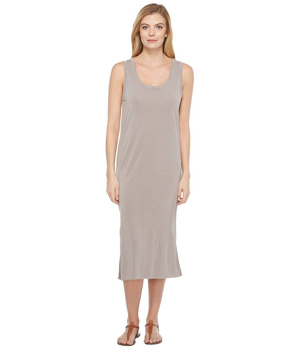 Culture Phit - London Sleeveless Midi Dress (Grey) Women's Dress