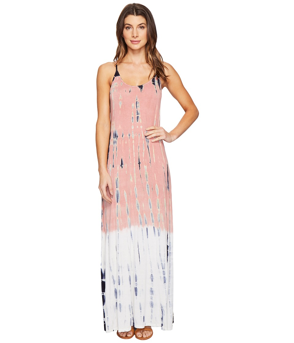 Culture Phit Erryka Spaghetti Strap Tie-Dye Dress (Pink) Women