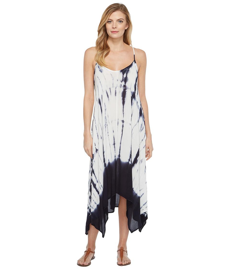 Culture Phit Molli Spaghetti Strap Tie-Dye Dress (Ivory) Women