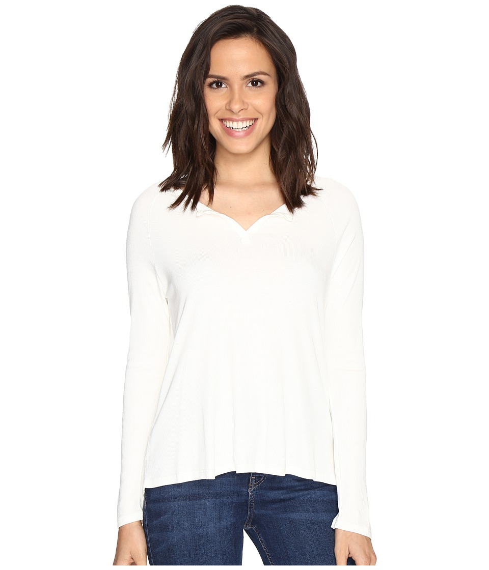 Culture Phit - Cambria Long Sleeve Top (Off-White) Women's Clothing
