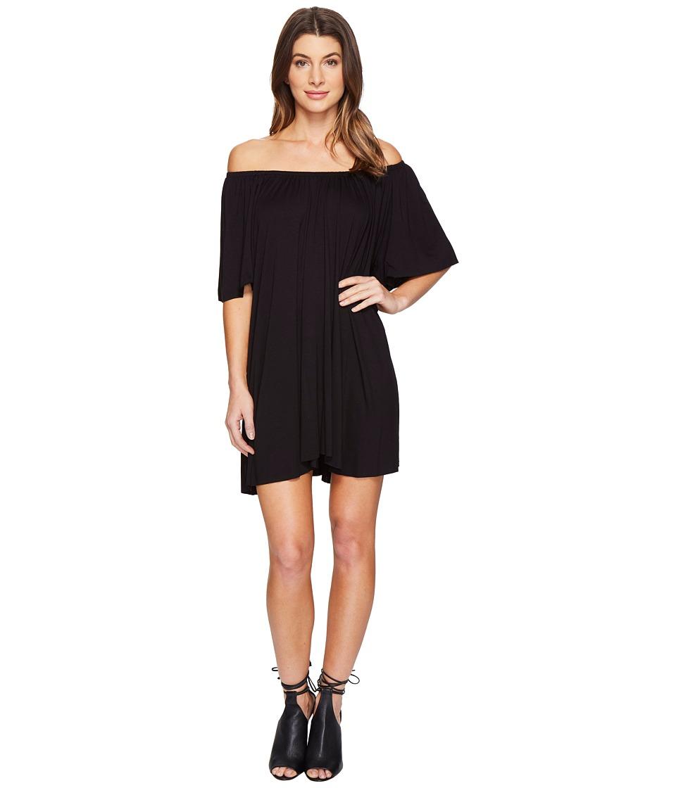 Culture Phit Loryn Off the Shoulder Dress (Black) Women