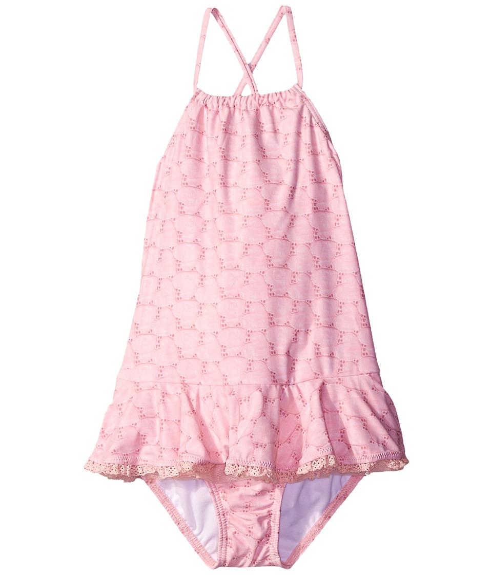 Seafolly Kids - Swan Lake Tank Top (Infant/Toddler/Little Kids) (Ballet Pink) Girl's Swimwear
