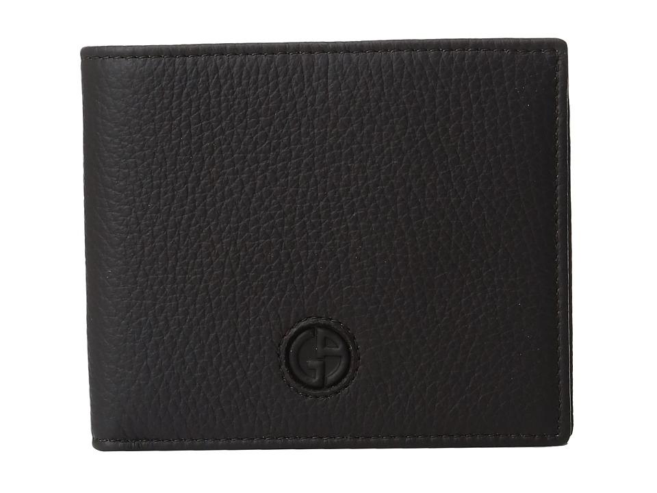 Giorgio Armani - Wallet (Dark Brown) Wallet Handbags