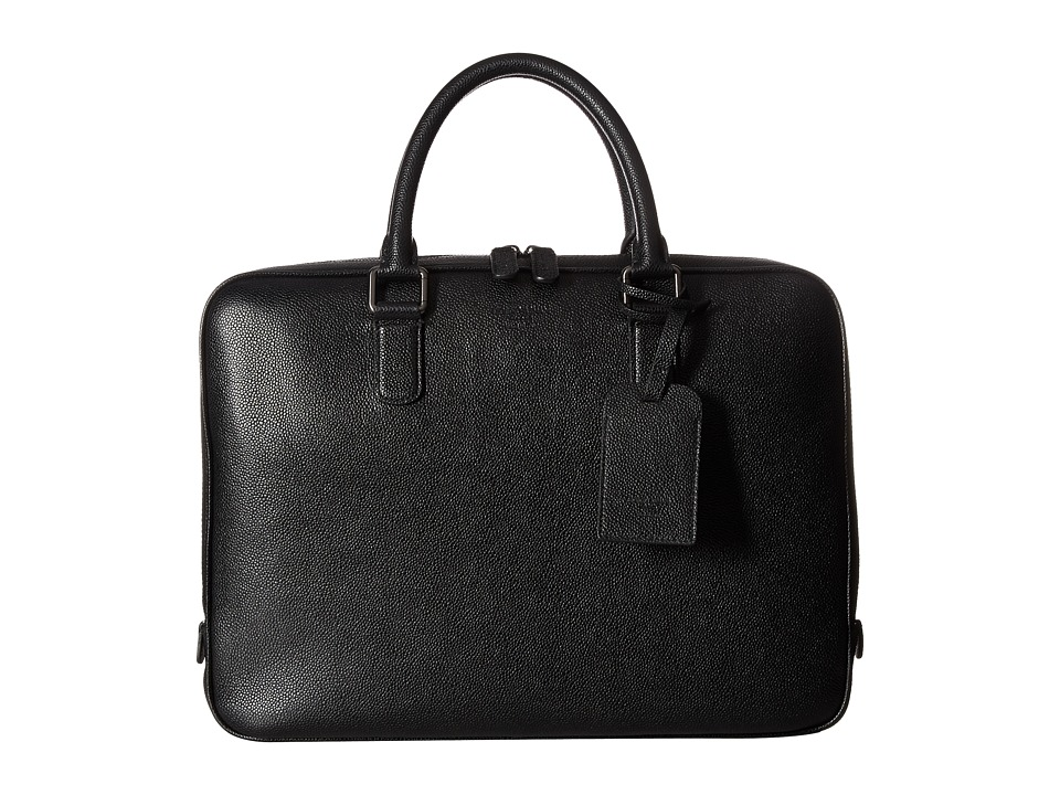 Giorgio Armani - Briefcase Bag (Black) Briefcase Bags