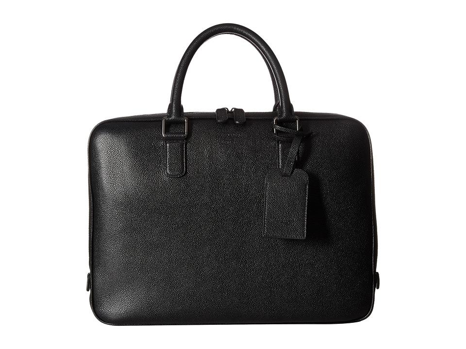 Giorgio Armani - Briefcase Bag (Black) Briefcase Bags