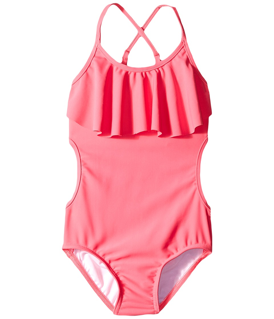 Seafolly Kids - Mermaidia Tank One Piece (Toddler/Little Kids) (Pony Pink) Girl's Swimwear