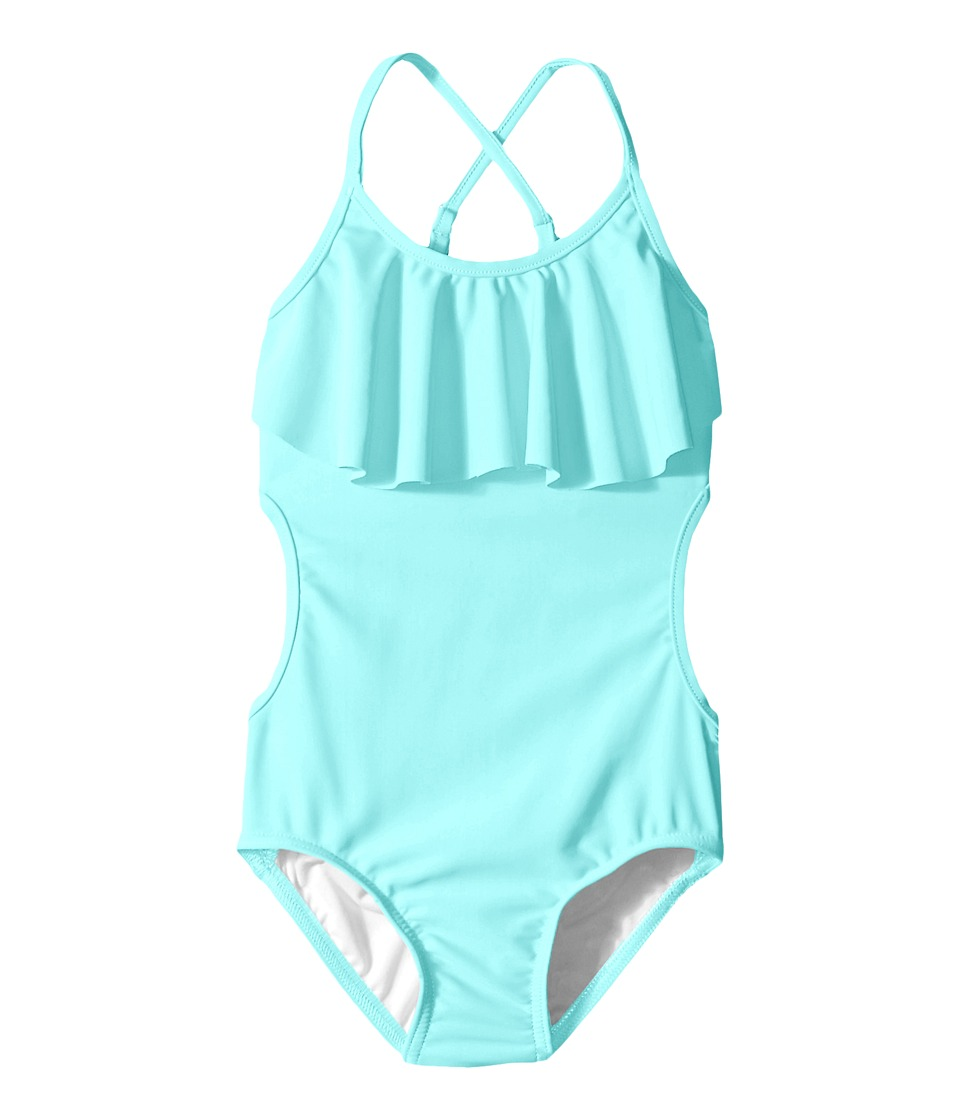 Seafolly Kids - Mermaidia Tank One Piece (Toddler/Little Kids) (Sea Blue) Girl's Swimwear