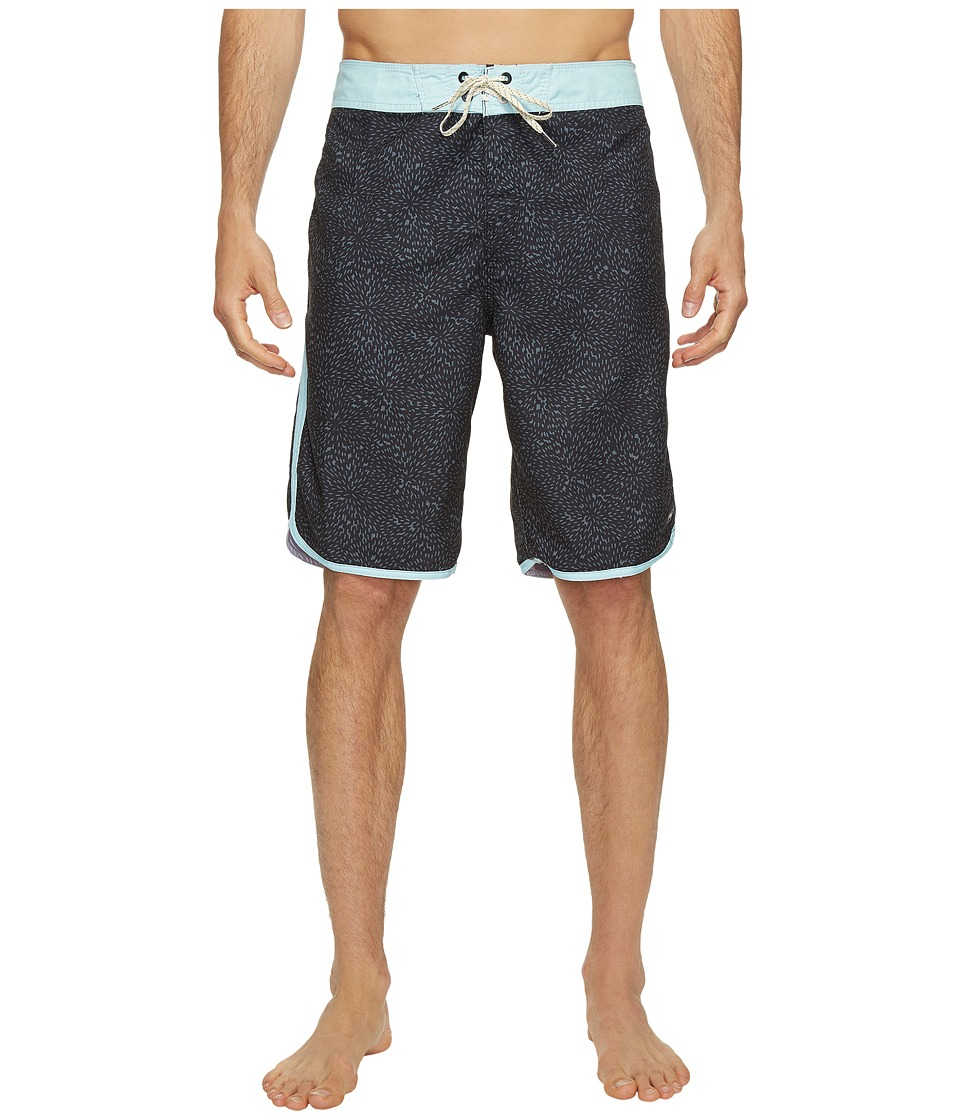 Billabong - MCY-73 Burst OG Boardshorts (Black 1) Men's Swimwear
