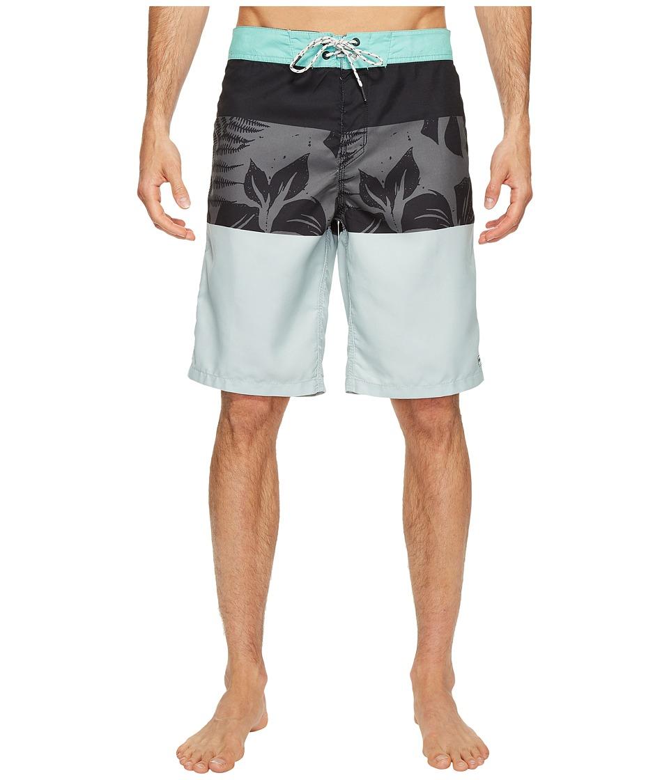 Billabong MCY-OG Leaf Boardshorts (Silver) Men