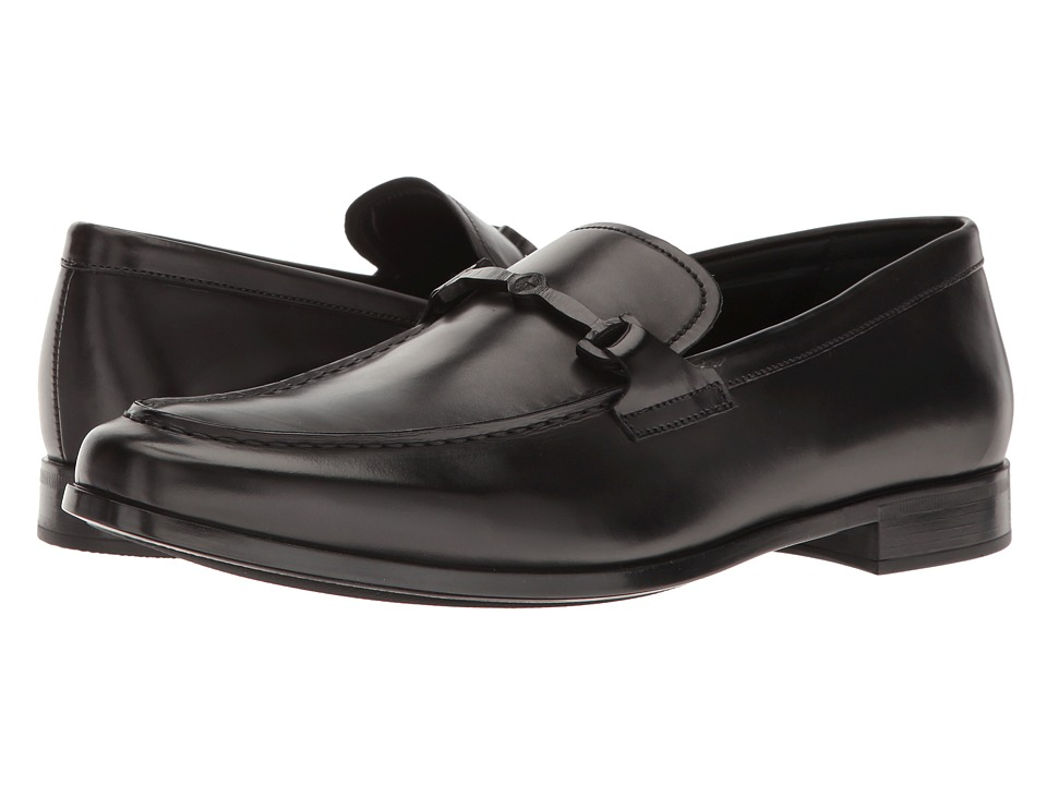 Giorgio Armani - Bit Loafer (Black) Men's Slip on Shoes